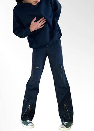 Y2k jeans 00s джинсы нулевые клёш