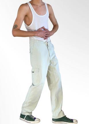 Regatta vintage nude pants базовые штаны нюдовые