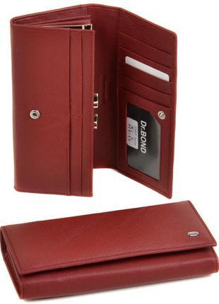 Женский кожаный кошелек dr. bond