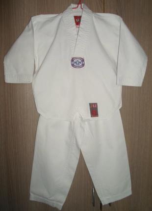 Кимоно добок таеквондо размер 0000/100