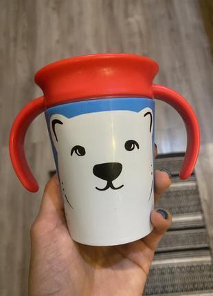 Чашка кружка стакан непроливайка munchkin 360