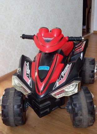 Детский электромобиль квадроцикл bambi av-01