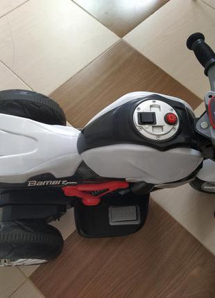 Мотоцикл акумуляторний.
