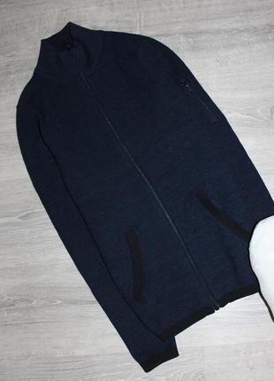 Кофта свитер на молнии замке с горлом толстовка next