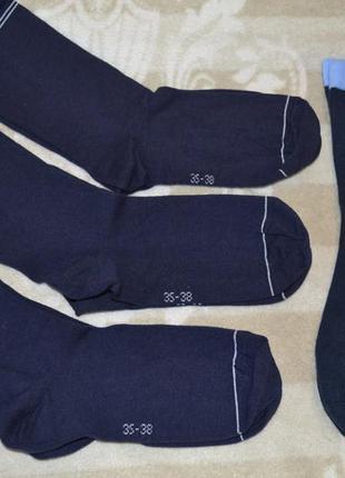 Комплект 4 пары! носки из высококачественного органического хлопка tchibo германия