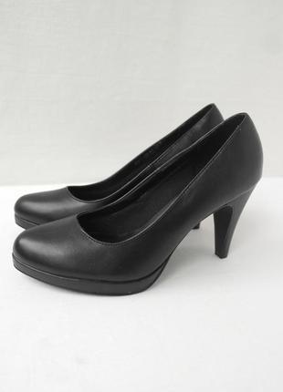 Новые (сток без бирки).  брендовые черные туфли graceland.  размер uk 6/ eur 39