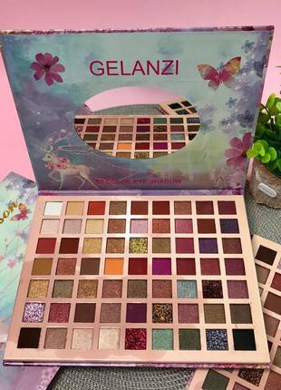 Палетка теней romantic season gelanzi eye shadow palette