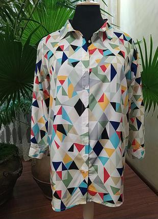 Яркая блуза   koko by koko, батал,  58-60-62 размер