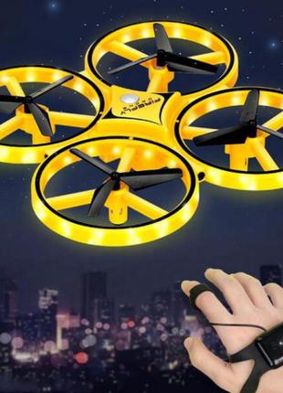 Квадрокоптер trac kfr-001 управление жестами дрон коптер. лучшая цена!