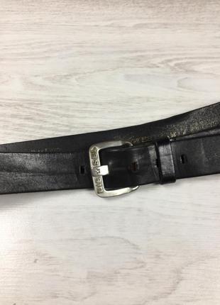 Фирменный кожаный мужской ремень diesel wrangler levis 90 оригинальный