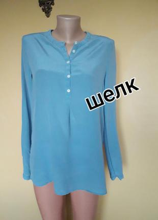 Милая шелковая блузка,туника,рубашка