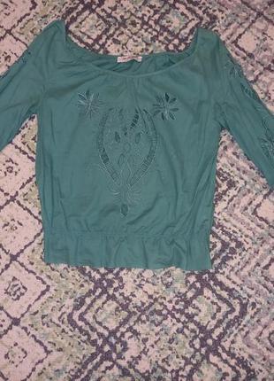 Нарядна блуза atmosphere з вишивкою
