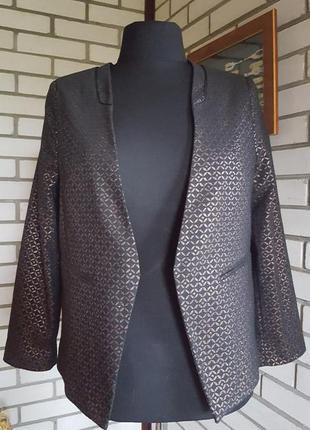 Пиджак wallis без застежки красивой расцветки 16-181р-ра.