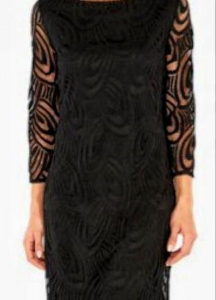 Кружевное, ажурное платье wallis