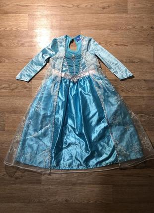 Платье эльза холодное сердце frozen на 3-4 года