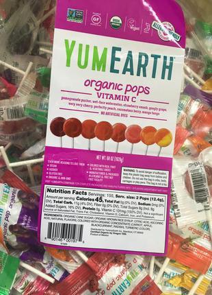 Органические леденцы 50шт сша (без упаковки!)