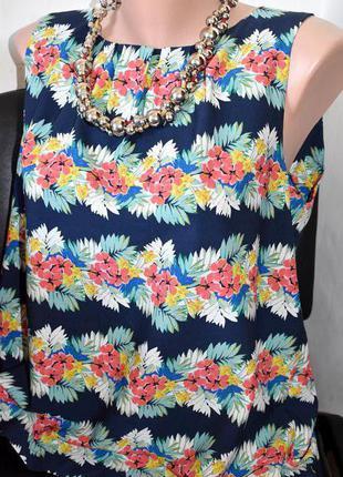Sale dorothy perkins красивая блуза в цветочный принт с пуговками по спинке