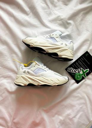 """Женские стильные кроссовки adidas yeezy 700 """"white"""""""