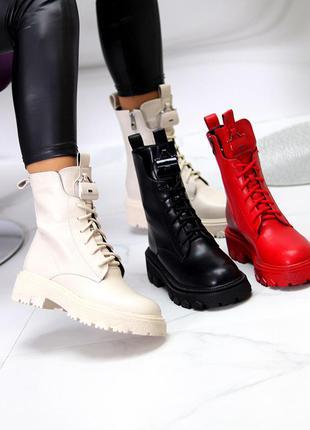 Ботинки крутые на платформе