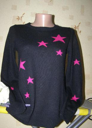 Hobbs свитер звезды  шерсть-кашемир s размер