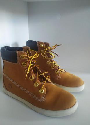 Кожаные ботинки timberland-оригинал р. 37