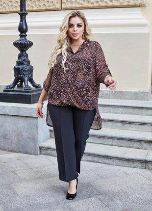 Шикарна шифонова блуза.