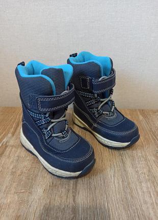 Детские зимние термо-сапоги ботинки carters 22-23 размер