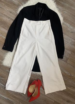 Стильные брендовые кюлоты/ укорочённые брюки от marella/max mara