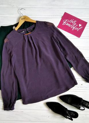 Изысканная шелковая блуза mexx