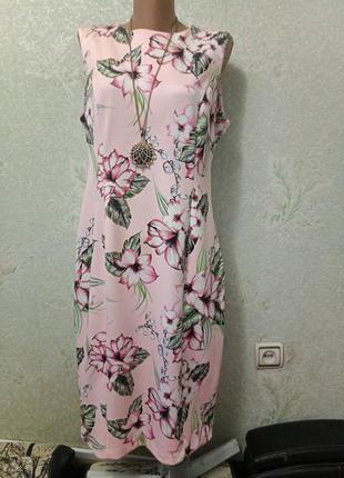 Шикарное эксклюзивное новое нарядное плотненькое стрейчевое платье дайвинг
