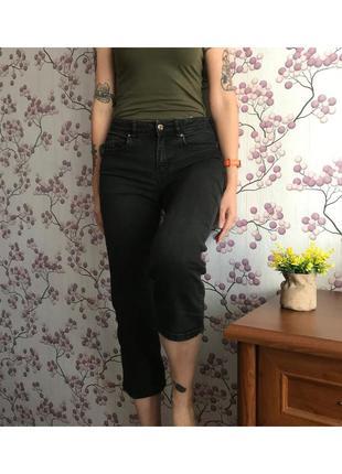 Короткие джинсы кюлоты divided 38/10/m