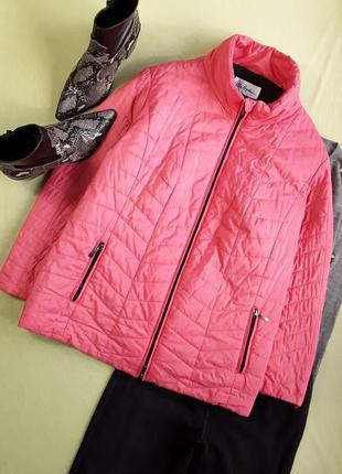 Деми курточка на силиконе красивого цвета от немецкого бренда ulla popken
