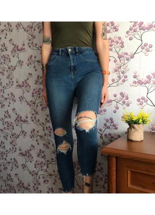 Стрейчевые джинсы скинни new look 10/38/m