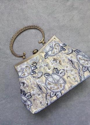 Гобеленовая сумочка ридикюль