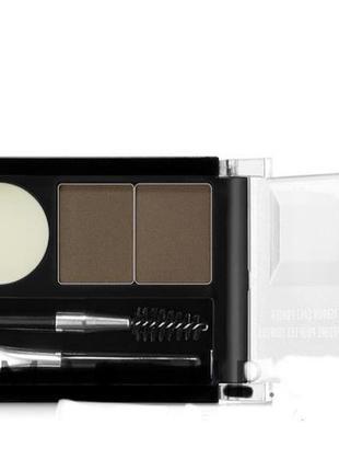 Тени для бровей nyx professional makeup eyebrow cake powder
