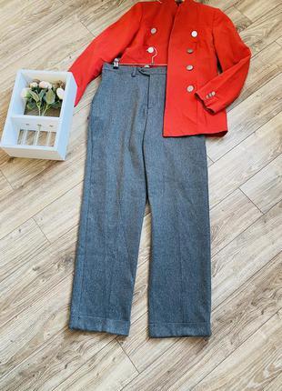 Шерстяные брюки zara на высокую девушку