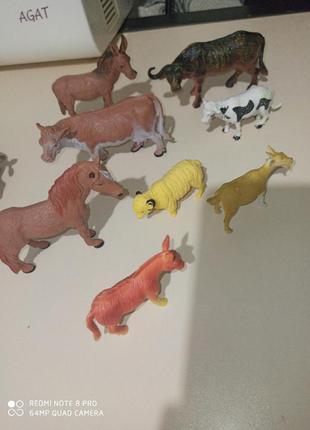 Набор животные фигурки