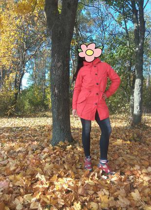 Стильная женская парка, куртка от бренда tchibo, р. s-m, наш 44-46