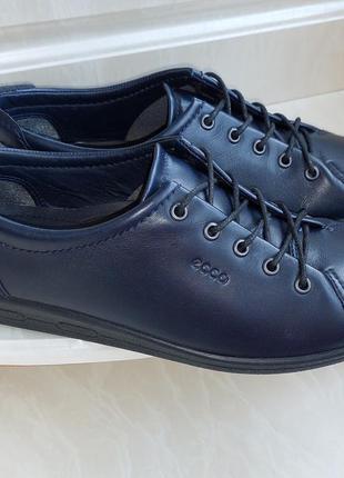 Кожаные туфли ecco, 40 размер, таиланд