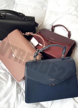 Стильная женская деловая сумка кроссбоди женский клатч #5819-2 david jones