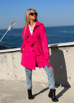 Утепленное пальто три цвета