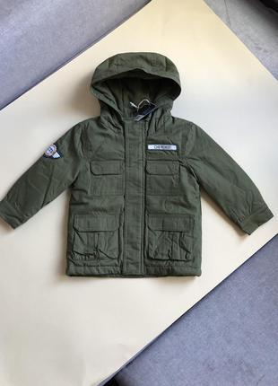 Куртка парка демисезон осенняя