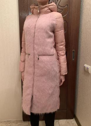 Пуховик длинный, пальто длинное зима, куртка пуховик зимняя, пальто зимове балон