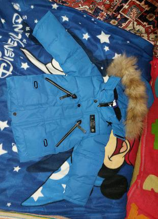 Зимовий комбінезон + куртка