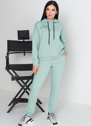 Беспл. доставка спорт костюм трехнитка 3 цвета, р. 44, 46, 48, 50, 52
