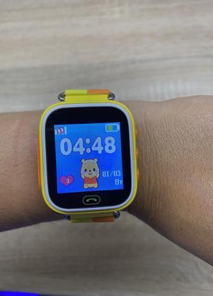 Умные детские часы smart watch q80.