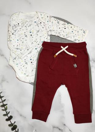 Утепленные штаны, бодик, комплект