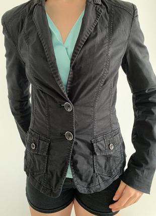 Жакет жіночий піджак, жакет чорний, черный пиджак, черный женский жакет.
