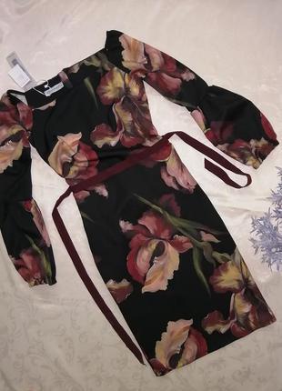 Платье с длинным рукавом  rinascimento италия