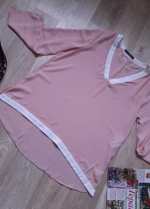 Нежная блуза р 38-42